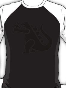 Godzilla Crushing Plane T-Shirt