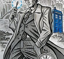 The Tenth Doctor  by Raine  Szramski