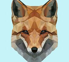 Geometric Wolf by PHILclith