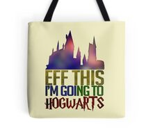 Going To Hogwarts Tote Bag