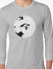 ET Extraterrestrial Moon BMX Trick Long Sleeve T-Shirt