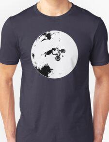 ET Extraterrestrial Moon BMX Trick Unisex T-Shirt