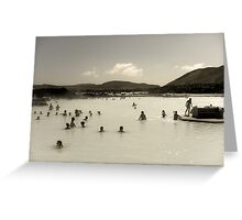 Into The Lagoon Greeting Card