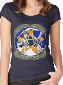 501st Joint Fighter Wing Yoshika and Lynette Women's Fitted Scoop T-Shirt