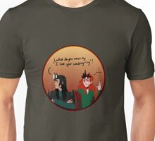 Melkor and sauron lost a ring Unisex T-Shirt