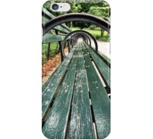 Central Park Bench iPhone Case/Skin