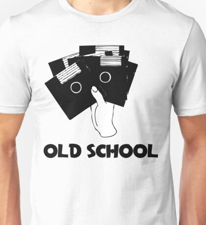 Retro Old School Floppy Disk Unisex T-Shirt