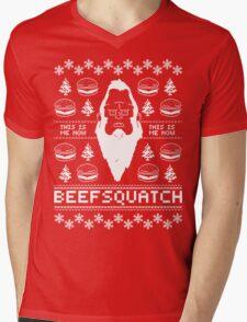 Ugly Holiday - Beefsquatch Mens V-Neck T-Shirt