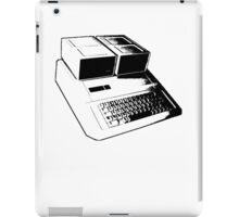 Vintage Retro Apple II Computer Stencil iPad Case/Skin