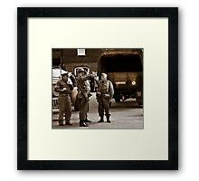 Dads Army  Framed Print