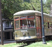 New Orleans Streetcar by zpawpaw