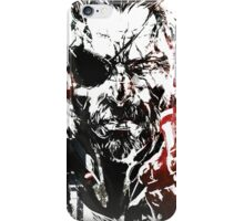 MGSV - All For Revenge (Japanese Kanji) iPhone Case/Skin