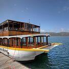 John Benn -- Floating Restaurant Knysna by JandeBeer
