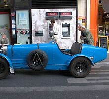 Paris - Bugatti. by Jean-Luc Rollier