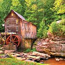 Glade Creek Mill  by Gregory Ballos | FineArtScapes.com