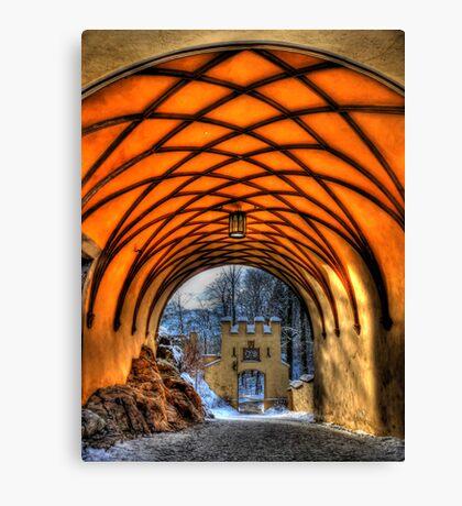 Royal Tunnel Vision Canvas Print