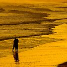Sunset Kiss by Oscar Gutierrez