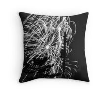 Firework 25 Throw Pillow