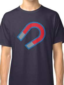 Magnet in red and blue Classic T-Shirt