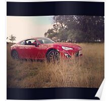 Toyota 86  Poster