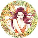 Floral Fairy by morgansartworld
