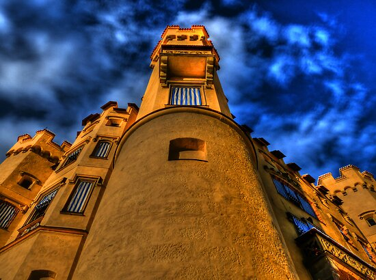 Up Close & Personal - Hohenschwangau Castle by Luke Griffin