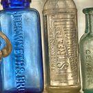Old Medicine Bottles by Kim McClain Gregal