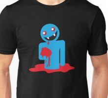 Cute Kawaii blue vampire Unisex T-Shirt