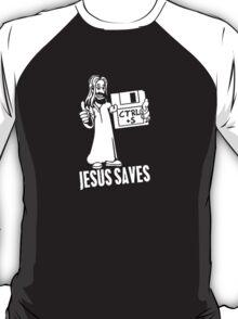 Jesus Saves Floppy Disk T-Shirt