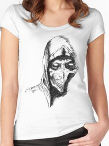 Scorpion Mortal Kombat X Women's Fitted Scoop T-Shirt