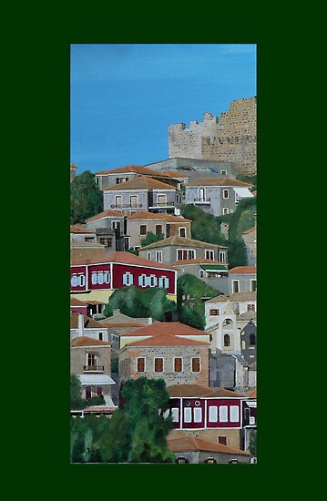 Molyvos One Of Three by Eric Kempson
