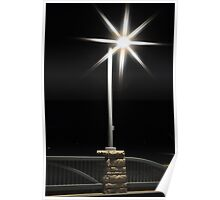 Starry Lamplight Poster