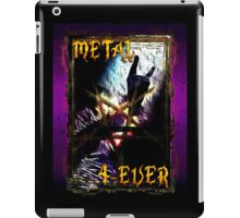 HEAVY METAL or METAL HORNS. iPad Case/Skin