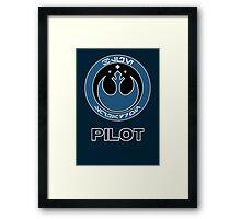 Star Wars Episode VII - Blue Squadron (Resistance) - Star Wars Veteran Series Framed Print