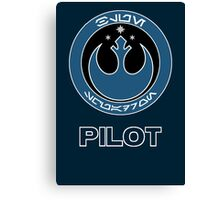 Star Wars Episode VII - Blue Squadron (Resistance) - Star Wars Veteran Series Canvas Print