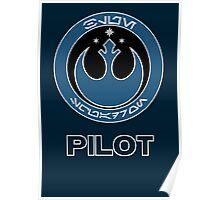 Star Wars Episode VII - Blue Squadron (Resistance) - Star Wars Veteran Series Poster
