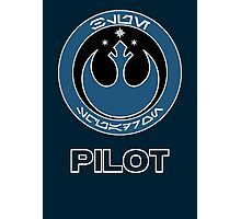 Star Wars Episode VII - Blue Squadron (Resistance) - Star Wars Veteran Series Photographic Print