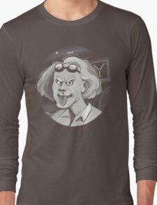 Doc Brown loves Einstein Long Sleeve T-Shirt