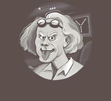 Doc Brown loves Einstein Unisex T-Shirt