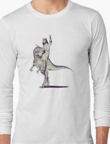 Jesus Riding Dinosaur T-Shirt