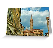 Firenze Italy Greeting Card