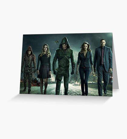 ARROW SEASON 3 | Team Arrow | Poster Greeting Card