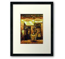 Creperie Restaurant Framed Print