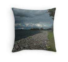 Saint Lawrence River Throw Pillow