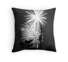 Firework 34 Throw Pillow