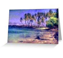 The Color of Paradise Greeting Card