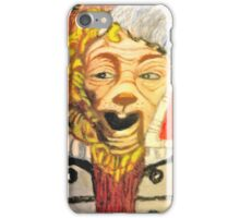 OZ COWARDLY LION GUARD  iPhone Case/Skin