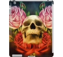 Skull And Rose's  iPad Case/Skin