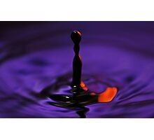 Splash V Photographic Print
