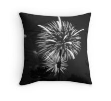Firework 40 Throw Pillow